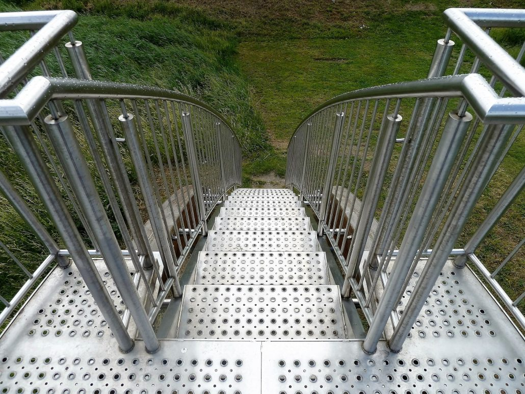 stainless-steel-outdoor-stair