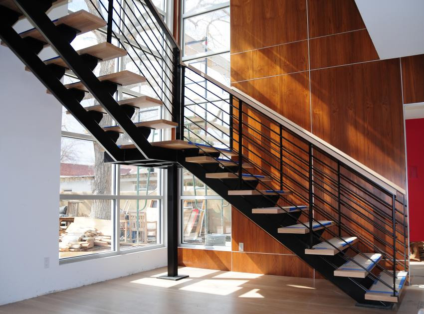 Marvelous ... Custom Archtectural Metal Stairs