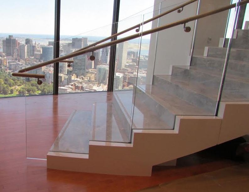metal-glass-marble-stairs