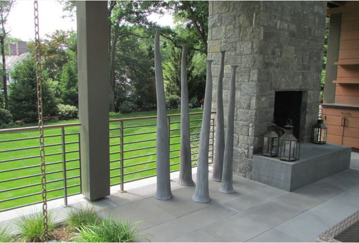 metal-rail-stone-concrete