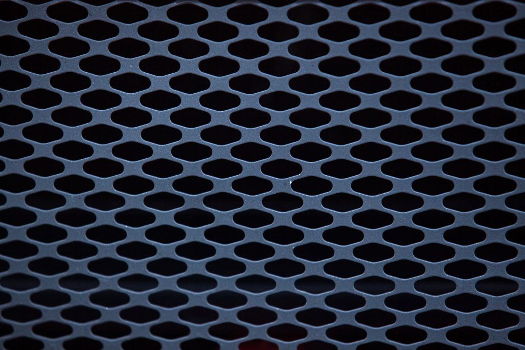 patterned-metal-grate